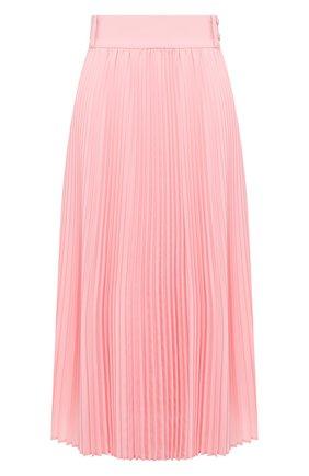 Женская плиссированная юбка HYKE розового цвета, арт. 14043 | Фото 1
