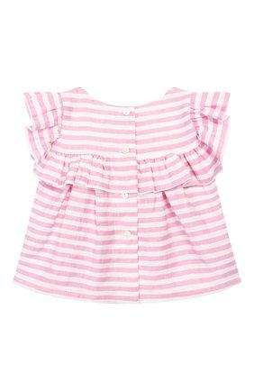 Детский комплект из топа и леггинс MONNALISA розового цвета, арт. 315500 | Фото 3