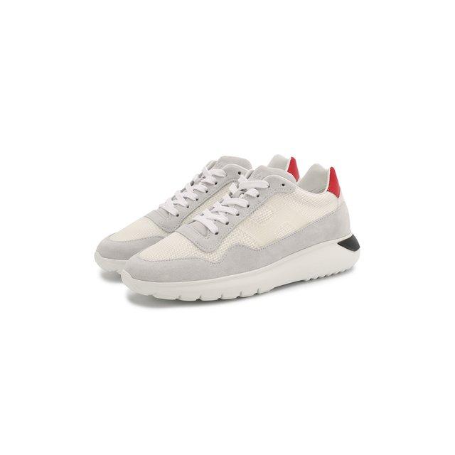 Замшевые кроссовки Hogan — Замшевые кроссовки