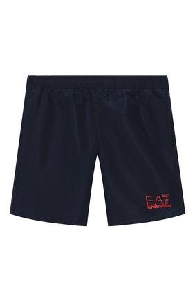 Детские плавки-шорты EA 7 темно-синего цвета, арт. 906005/0P772 | Фото 1