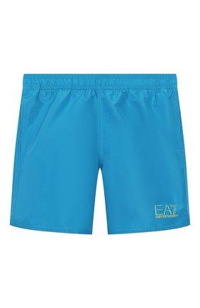 Детские плавки-шорты EA 7 синего цвета, арт. 906005/0P772 | Фото 1