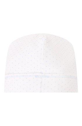 Детского хлопковая шапка MAGNOLIA BABY голубого цвета, арт. 597-50-LB | Фото 2