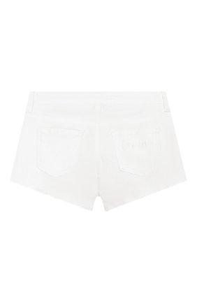 Детские хлопковые шорты TWINSET белого цвета, арт. 201GJ2031/12A-16A | Фото 2