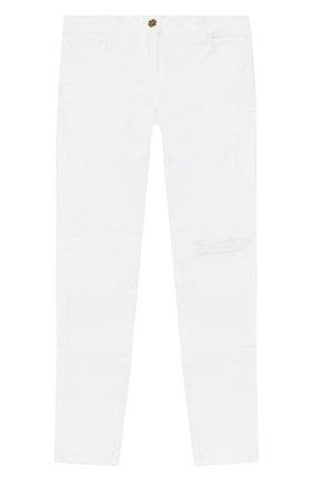 Детские джинсы TWINSET белого цвета, арт. 201GJ2030/12A-16A | Фото 1