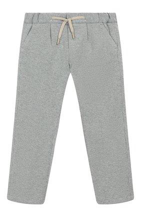 Детские брюки BARONIO KIDS серого цвета, арт. S2093-SN0W | Фото 1