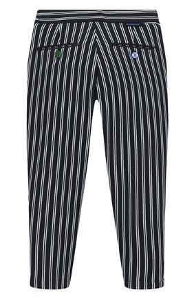 Детские хлопковые брюки BARONIO KIDS синего цвета, арт. S2091-SN0W | Фото 2