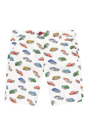 Детские хлопковые шорты BARONIO KIDS разноцветного цвета, арт. S20800-G0LDSH | Фото 1