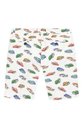 Детские хлопковые шорты BARONIO KIDS разноцветного цвета, арт. S20800-G0LDSH | Фото 2