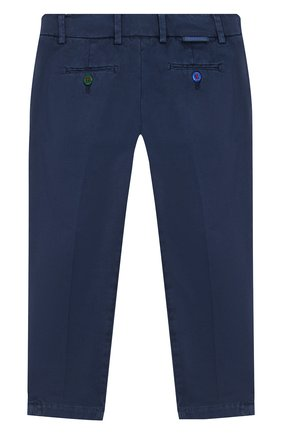 Детские хлопковые брюки BARONIO KIDS темно-синего цвета, арт. S2000-PRINCE | Фото 2