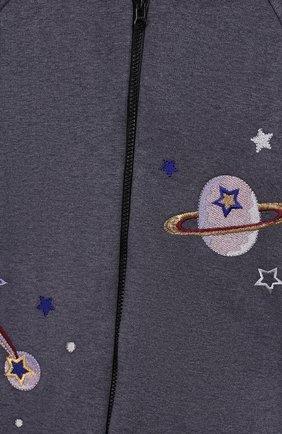 Детского комплект из 4-х предметов галактика CHEPE темно-серого цвета, арт. 371223 | Фото 10