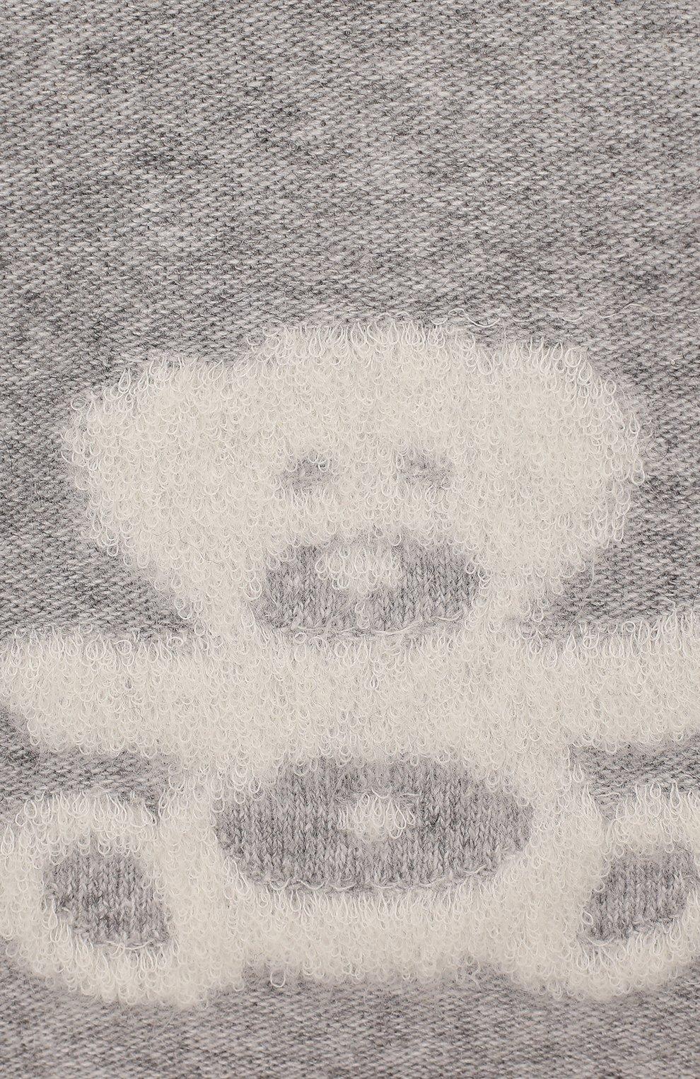 Детского комплект из 4-х предметов CHEPE серого цвета, арт. 371630 | Фото 4