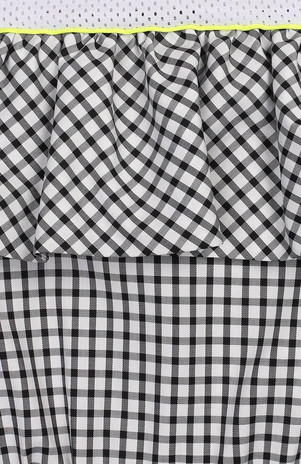 Детский хлопковый комбинезон SIMONETTA черно-белого цвета, арт. 1M1292/MC370/10-14+ | Фото 3