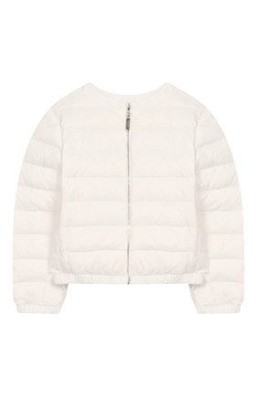 Детского куртка SIMONETTA белого цвета, арт. 1M2010/ME210/5-8 | Фото 1