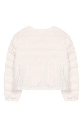 Детского куртка SIMONETTA белого цвета, арт. 1M2010/ME210/5-8 | Фото 2