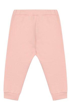 Детские хлопковые брюки FENDI светло-розового цвета, арт. BFF130/5V0/12M-24M | Фото 1