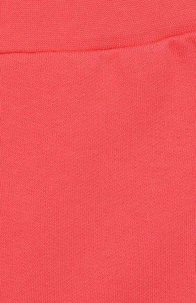 Детские хлопковые брюки FENDI кораллового цвета, арт. BFF130/5V0/12M-24M | Фото 3
