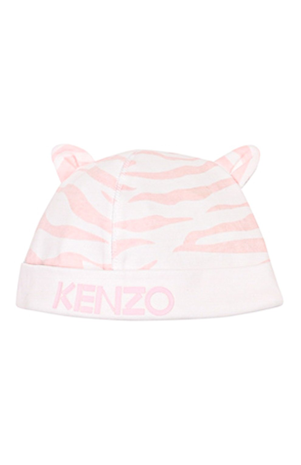 Детский комплект из комбинезона и шапки KENZO белого цвета, арт. KQ99013 | Фото 4