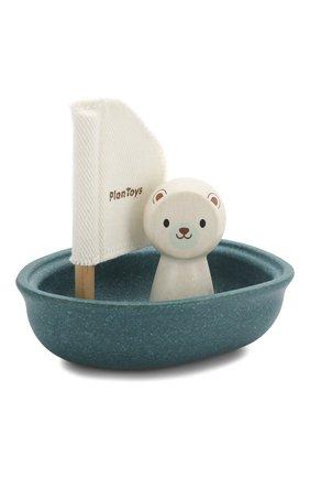 Детского игрушка лодка и полярный медведь PLAN TOYS разноцветного цвета, арт. 5712 | Фото 1