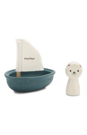 Детского игрушка лодка и полярный медведь PLAN TOYS разноцветного цвета, арт. 5712 | Фото 2