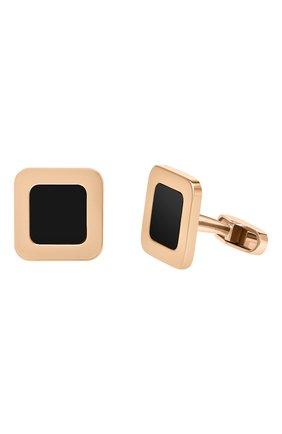 Мужские запонки MERCURY бесцветного цвета, арт. 97282 ORG | Фото 1 (Материал сплава: Розовое золото; Драгоценные камни: Другие)