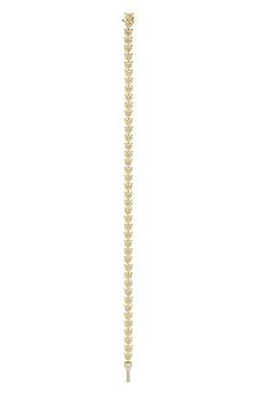 Женский браслет MERCURY бесцветного цвета, арт. MB20543/YG/1HR0.25   Фото 2