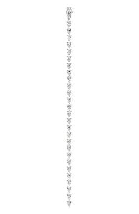 Женский браслет MERCURY бесцветного цвета, арт. MB24117/WG/1PD0.25 | Фото 2