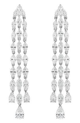 Женские серьги MERCURY бесцветного цвета, арт. ME17277/WG | Фото 1