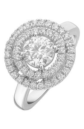 Женские кольцо MERCURY бесцветного цвета, арт. MR18489/WG/1RD0.90   Фото 1