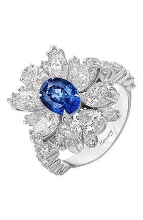 Женские кольцо MERCURY бесцветного цвета, арт. MR18626WS | Фото 1