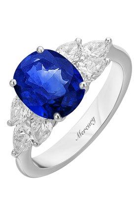 Женские кольцо MERCURY бесцветного цвета, арт. MR20161WS | Фото 1