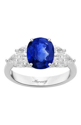 Женские кольцо MERCURY бесцветного цвета, арт. MR20161WS | Фото 2