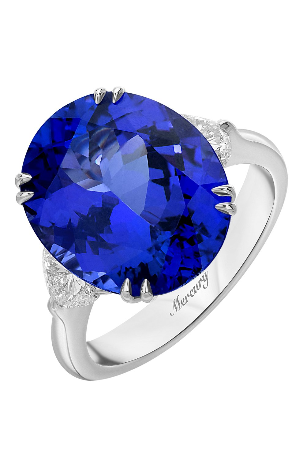 Женские кольцо MERCURY бесцветного цвета, арт. MR20420WTDH   Фото 1
