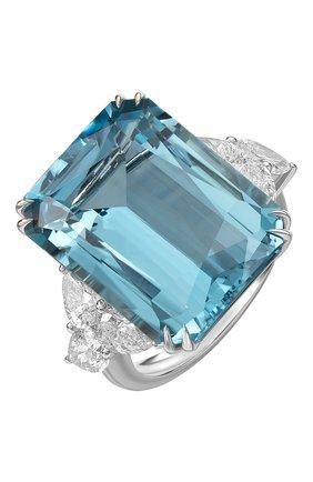 Женские кольцо MERCURY бесцветного цвета, арт. MR25447WDAQ | Фото 1 (Материал сплава: Белое золото; Драгоценные камни: Бриллианты)