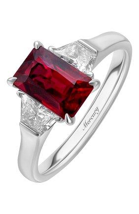 Женские кольцо MERCURY бесцветного цвета, арт. MR25771WR | Фото 1