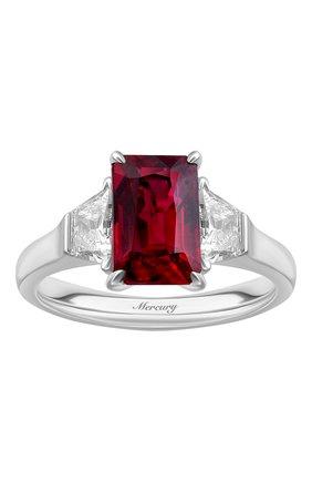 Женские кольцо MERCURY бесцветного цвета, арт. MR25771WR | Фото 2