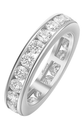Женские кольцо MERCURY бесцветного цвета, арт. MR808/WG/1RD0.10 | Фото 1 (Материал сплава: Белое золото; Драгоценные камни: Бриллианты)