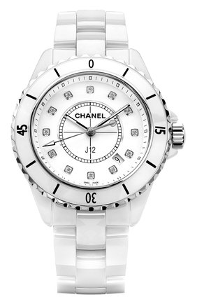 Женские часы j12 CHANEL белого цвета, арт. H1628 | Фото 1