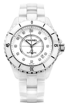 Женские часы j12 CHANEL белого цвета, арт. H1629 | Фото 1