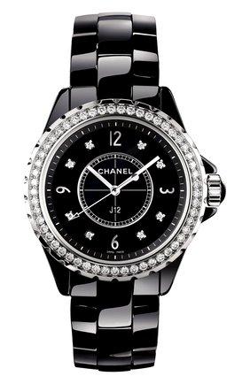 Женские часы j12 CHANEL черного цвета, арт. H3108 | Фото 1