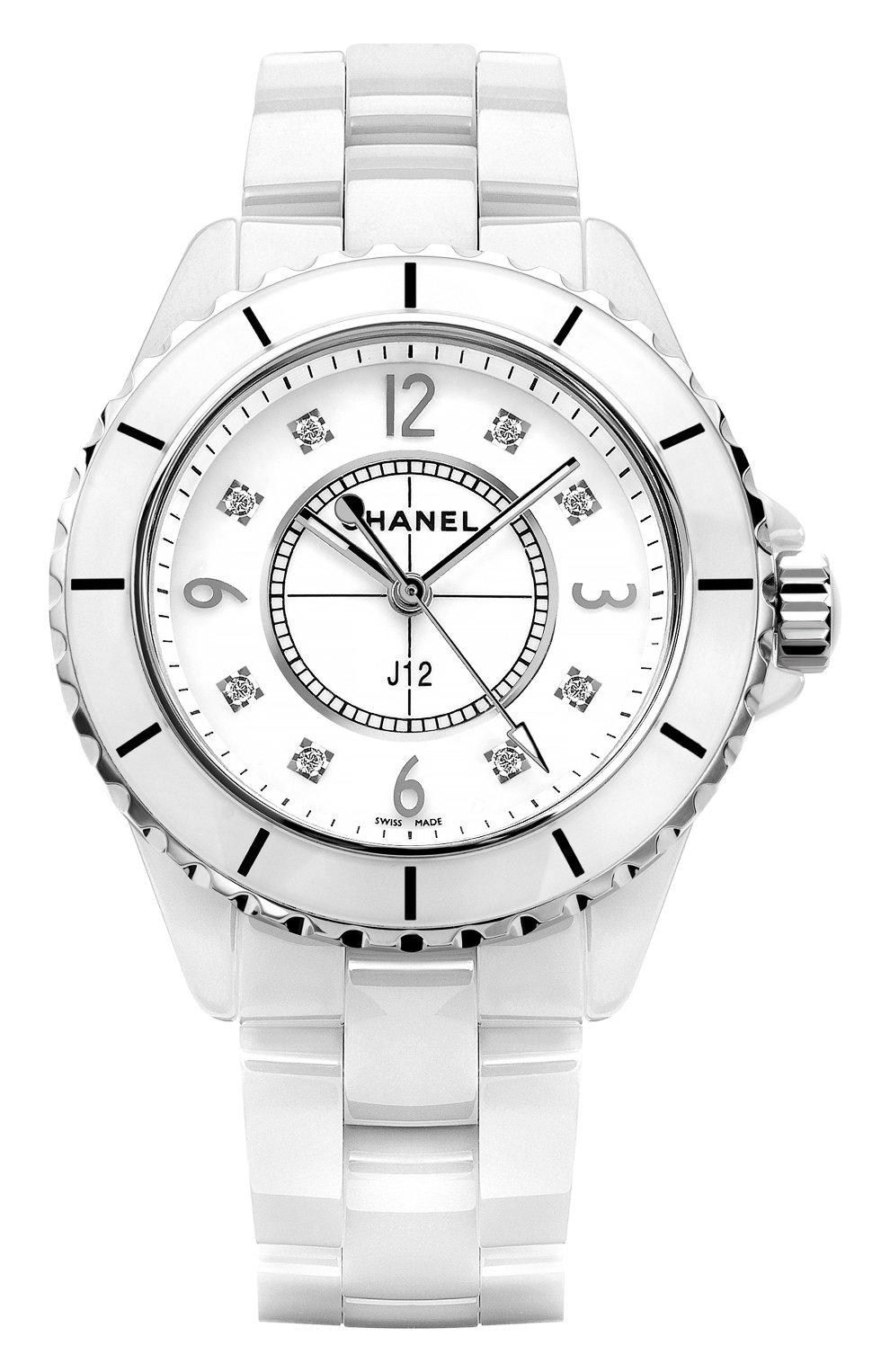 Женские часы j12 CHANEL белого цвета, арт. H3214 | Фото 1