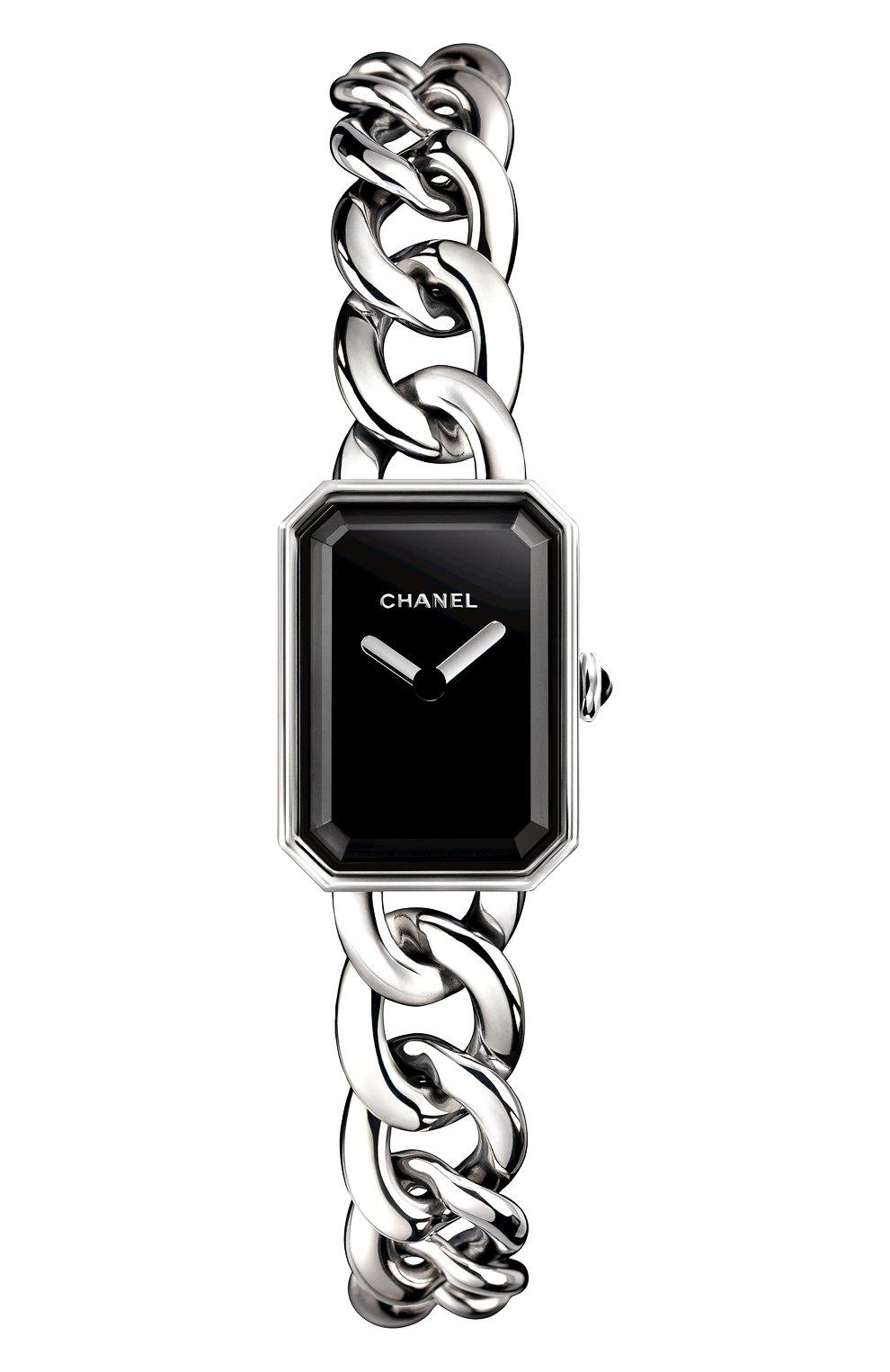 Женские часы premiere CHANEL черного цвета, арт. H3248 | Фото 1