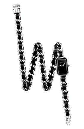 Женские часы premiere CHANEL черного цвета, арт. H3749 | Фото 1