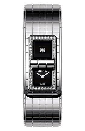 Женские часы code coco CHANEL черного цвета, арт. H5145 | Фото 1