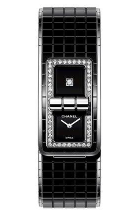 Женские часы code coco CHANEL черного цвета, арт. H5148   Фото 1
