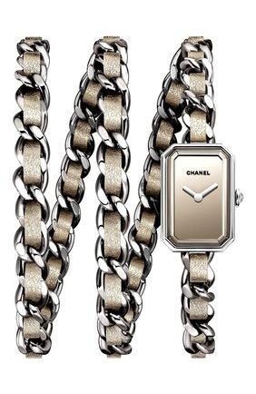 Женские часы premiere CHANEL серебряного цвета, арт. H5583 | Фото 1