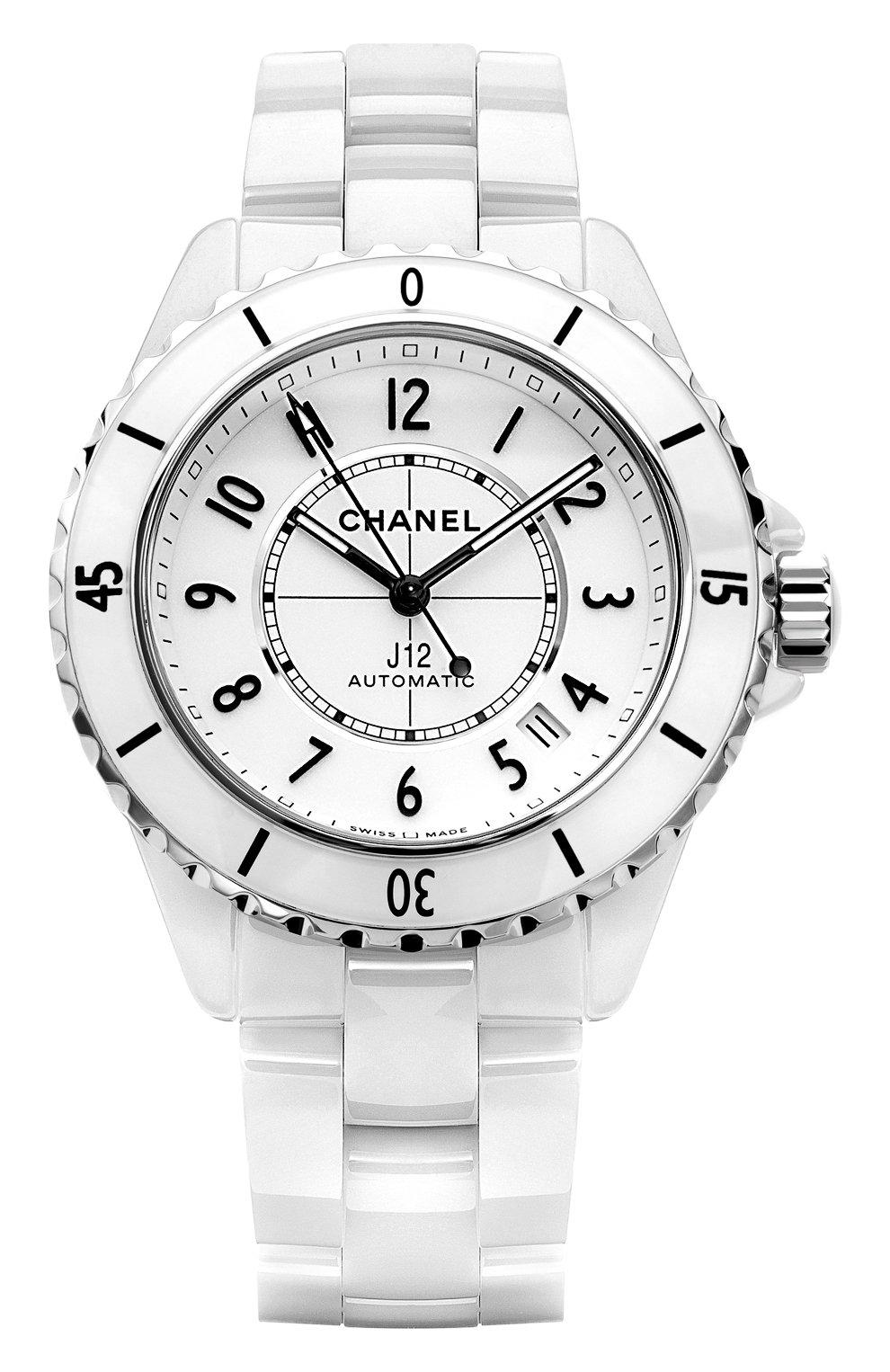 Женские часы j12 CHANEL белого цвета, арт. H5700 | Фото 1