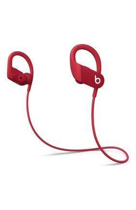 Беспроводные наушники powerbeats high-performance BEATS красного цвета, арт. MWNX2EE/A | Фото 1