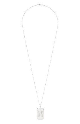 Женская подвеска LEVASHOVAELAGINA серебряного цвета, арт. sm/n | Фото 1