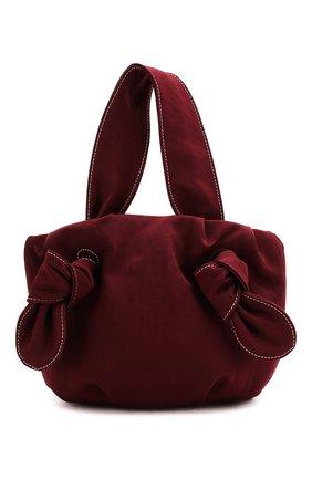 Женская сумка ronnie STAUD бордового цвета, арт. 162-9179 | Фото 1