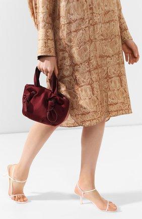 Женская сумка ronnie STAUD бордового цвета, арт. 162-9179 | Фото 2